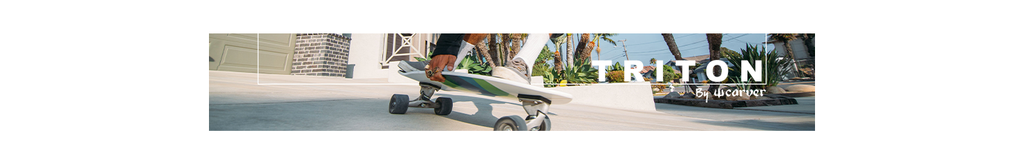 Image Surfskate Triton By Carver